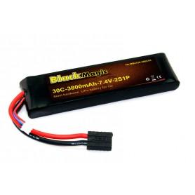 BlackMagic Semi HardCase, 30C 3800mAh 2S