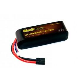BlackMagic Semi HardCase, 30C 10000mAh 2S