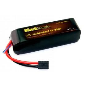 BlackMagic Semi HardCase, 30C 13000mAh 2S
