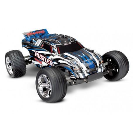 Rustler 2WD 1/10 RTR TQ Röd - Med Batteri/Laddare