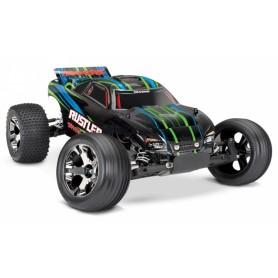 Rustler VXL 2WD 1/10 RTR TQi TSM Röd - Utan Batt/Ladd