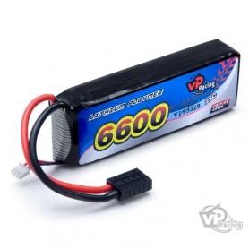 Li-Po Batteri 2S 7,4V 6600mAh 25C TRX-kontakt
