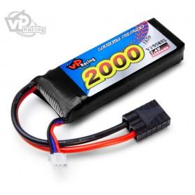 Li-Ion Batteri 2S 7,4V 4000mAh 30C T-kontakt