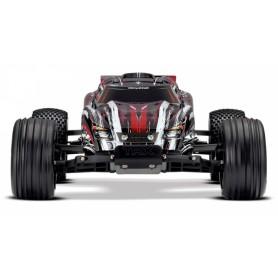 Rustler 2WD 1/10 RTR TQ Röd - Utan Batteri/Laddare