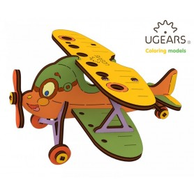 Ugears Flygplan Dubbeldäckare - 4Kids